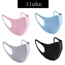1,2,3,5PCS Face Mask Reusable Washable THIN Cloth ADULTS USA