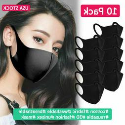 10 Pack Face Mask Reusable Washable Cover Fashion Cloth Men