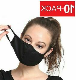 10 pack soft cotton face mask fashionable