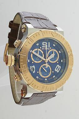 INVICTA 10583 OCEAN REEF RESERVE MENS DRESS CHRONO DATE BLUE