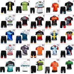 2020 Mens Cycling Jersey And Shorts Sets Cycling Clothing Bi