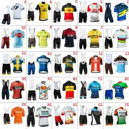 2020 Mens  Cycling Jerseys Bib Shorts sets Cycling Clothing