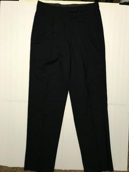 $240 Louis Roth Clothes mens dress pants 38 x 38 black pleat