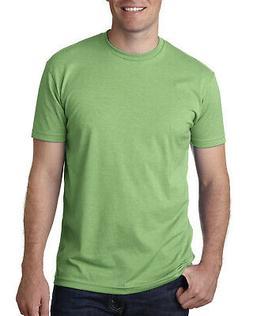 Next Level Apparel CVC Mens Crew Neck T-Shirt Short Sleeves