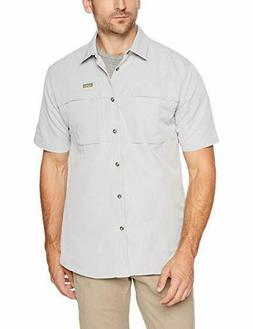 Solstice Apparel Men's Short Sleeve Travel Shirt, Small