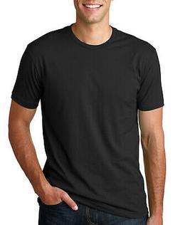 Next Level Apparel Mens T-Shirt Made in USA Cotton Crew Neck