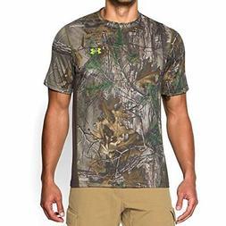 Under Armour Apparel Mens Tech Scent Control T-Shirt- Pick S