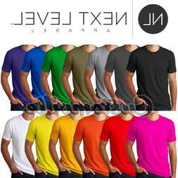 Next Level Apparel Premium Crew Neck T shirt Men's Unisex ba
