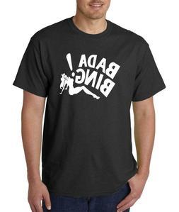 Bada Bing Gangster Mafia Funny Men's T shirt Clothing TOP