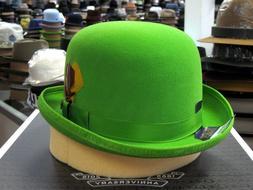 BAILEY DERBY LIME GREEN WOOL FELT DRESS HAT