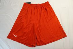 NIKE BASKETBALL SHORTS 4XL RED 718344 657 TRAINING WORK OUT