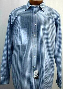 Big and Tall Sport Shirt IZOD LS 17 1/2 Tall Cas Dress NWT B