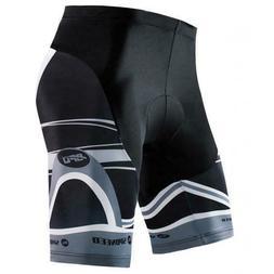 Bike Shorts Gel Padded Men Bicycle Bottoms Quick Dry Spandex