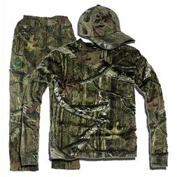Bionic Hunting Clothes Camouflage Ghillie Suit Leaf Breathab