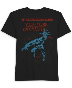 Black Panther T-Shirt by Hybrid Apparel Black Mens 2XL New