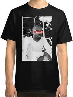 Blond Frank Ocean Men's Black Tees Shirt Clothing