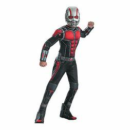 Boy's Deluxe Muscle Chest Ant-Man Costume - Small - Apparel