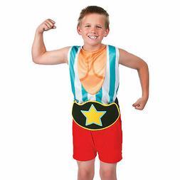 Boy'S Muscle Man Suit Costume - Apparel Accessories - 2 Piec