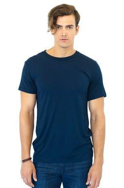 BRAND NEW Royal Apparel Men's Crew Hemp T-Shirt Blue or Blac