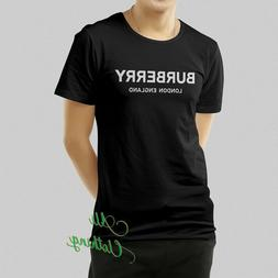 Burberry1911 Shirt Fashion Cloth T-shirt Unisex 100% Cotton