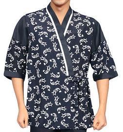chef coats jacket sushi restaurant bar clothes uniform 4 siz