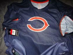 NIKE CHICAGO BEARS NFL TEAM APPAREL DRI FIT SHIRT SIZE L MEN
