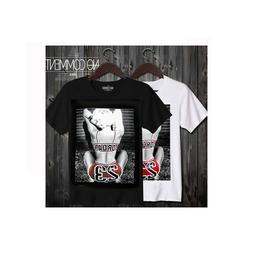 Clearance Sale!! NO COMMENT Imprime 23 Jordan T-shirts / Mad