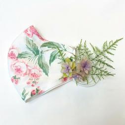 Handmade Cloth Face Mask-100% Cotton-Reversible-Comfortable-