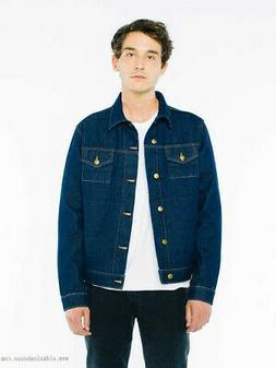 American Apparel Dark Wash Denim Jacket, 2X-Small, X-Small,