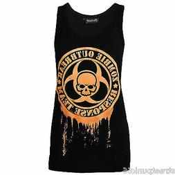 DARKSIDE CLOTHING GLOW IN THE DARK UNISEX BEATER VEST OUTBRE