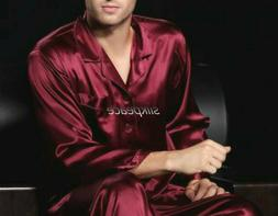 Homewear Cloths DELIVER 5 DAYS Men Satin Silk Pajama Set Lou