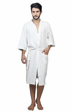 Dressing Gown Bath Robes Men Robes Shower White Color Bathro