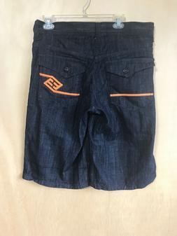 Enyce Clothing Co. Men's Size 34 Denim Jean Black Shorts Ora