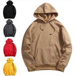 Laamei Eu Size Fashion Colorful Hoodies Men's Thicken Clothe