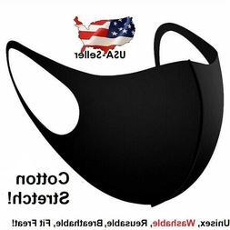 Face Mask Reusable Washable Cover Masks Fashion Cloth Men Wo