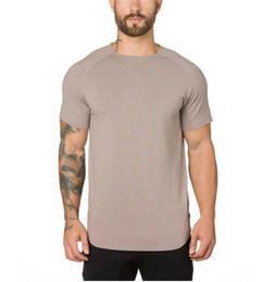 Fashion Men Sport T Shirts Active Wear Bodybuilding Workout