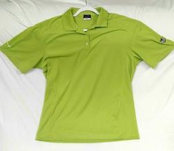 Nike Golf Fit Dry Polo Dress Shirt Men's Size XL - Green - A