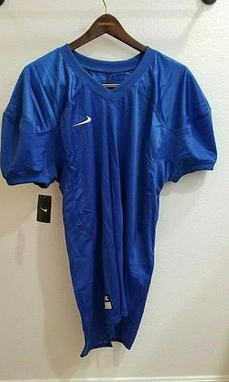 Nike Football Jersey Mens size 3X XXXL Long Blue Blank New w