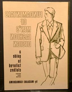 Fundamentals of Men's Fashion Design A Guide to Tailored Clo
