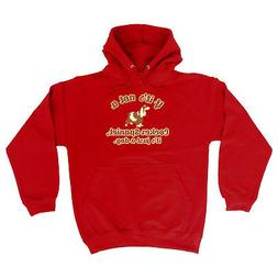 Funny Novelty Hoodie Hoody hooded Top - If Its Not A Cocker