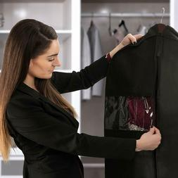 Garment Bag Travel Suit Bag Hanging Suit Dress Carrier Stora