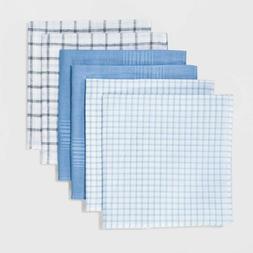 Goodfellow & Co 6-Pack Mens Handkerchiefs Hankies Cloths 100