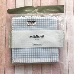 Goodfellow & Co Mens Handkerchiefs Hankies Cloths Cotton 6 P
