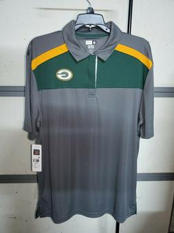 Green Bay Packers Men's Golf Shirt Official NFL Team Apparel