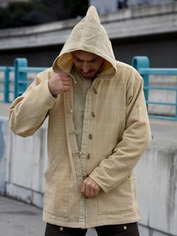 Hemp Jacket 100% Hemp Hoodie  Hemp Mens Clothing Hemp Pullov