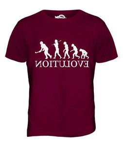 HOCKEY EVOLUTION OF MAN MENS T-SHIRT TEE TOP GIFT CLOTHING