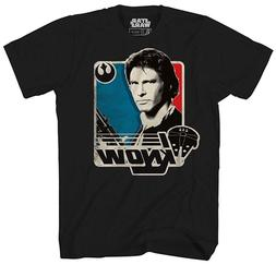 Star Wars I Know Han Solo Funny Humor Adult Mens Graphic Tee
