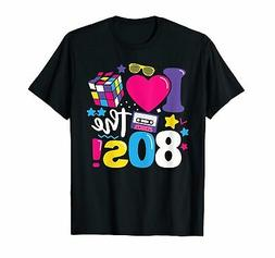 I Love The 80s Gift Clothes for Women and Men Funny Vintage