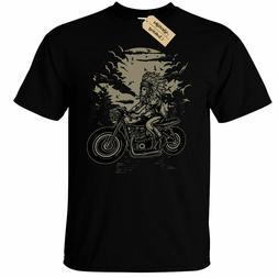 Indian Chief Rider T-Shirt biker motorcycle Mens top tee clo