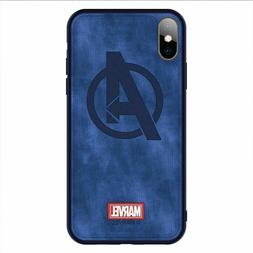 For iPhone Xs Max Xr Panther Captain Marvel The Avengers Clo